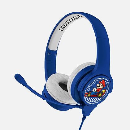Nintendo Mariokart Blue Kids Interactive headphones