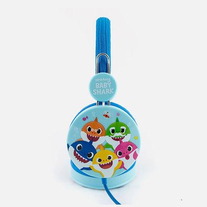 Baby Shark Blue Kids Core Headphones