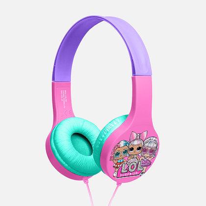 L.O.L. Surprise! Party girls Pink/Purple Kids essential headphones