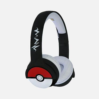 Pokémon Pokéball Black Kids Wireless Headphones