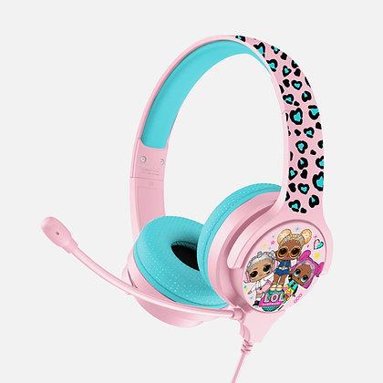 L.O.L. Surprise! Let's Dance! Pink Kids Interactive headphones