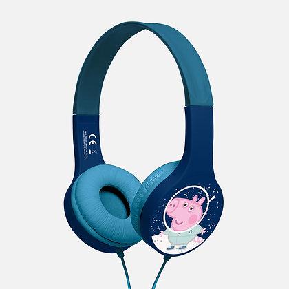 Peppa Pig George in space Navy/white Kids essential headphones