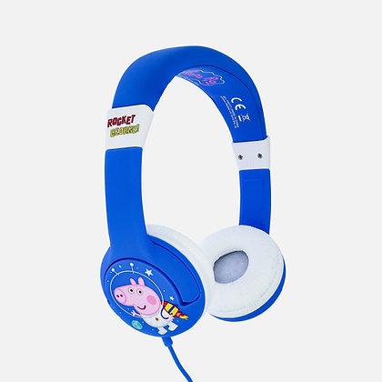 Peppa Pig Rocket George Blue Kids Headphones