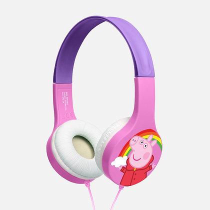 Peppa Pig Rainbow Pink/white Kids essential headphones