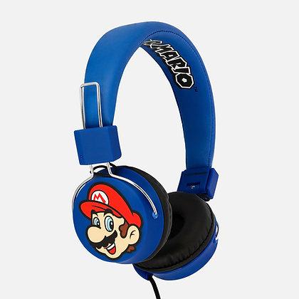 Super Mario and Luigi Teen folding Headphones