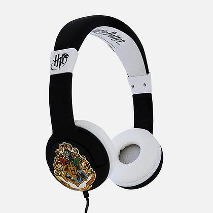 Harry Potter Hogwarts Crest Kids Headphones
