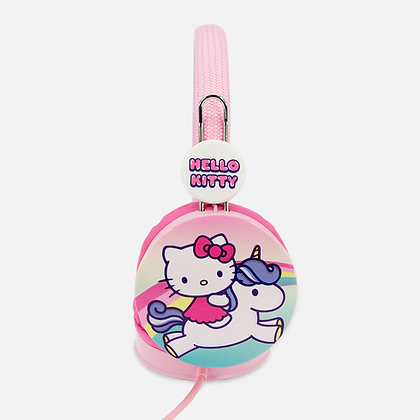 Hello Kitty Unicorn Pink Kids Core Headphones