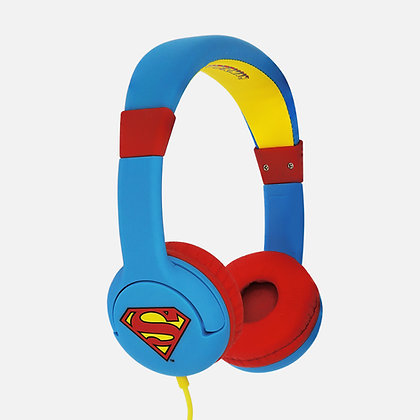Superman Man of Steel Children's Headphones