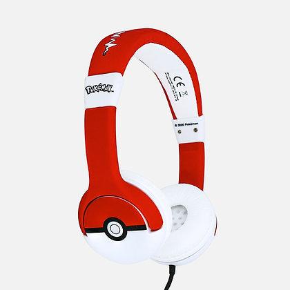 Pokémon Pokéball Kids Headphones