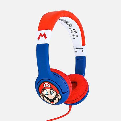 Super Mario Blue Kids Headphones