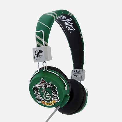 Harry Potter Slytherin Crest Teen folding Headphones