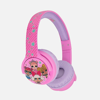 L.O.L. Surprise! Glitterati club Pink Kids Wireless Headphones
