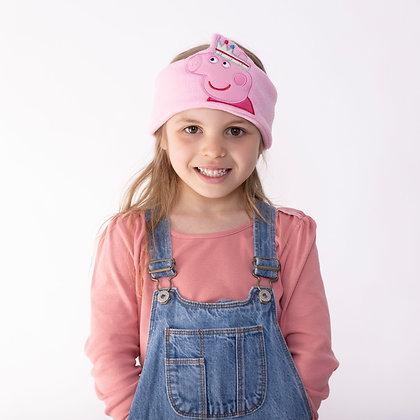 Rainbow Peppa Pink Kids Audio band headphones