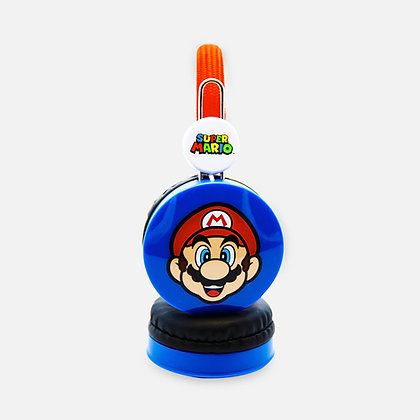 Super Mario Red/Blue Kids Core Headphones