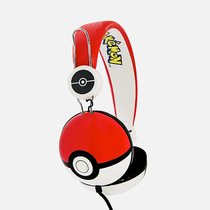 Pokéball Red Teen stereo Headphones