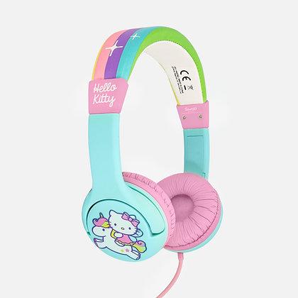 Rainbow Kitty Pink Kids Headphones
