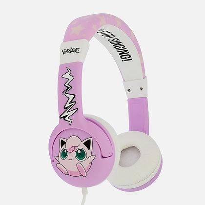 Pokémon Jigglypuff Pink Kids Headphones
