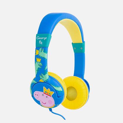 Peppa Pig Prince George Blue Kids Headphones