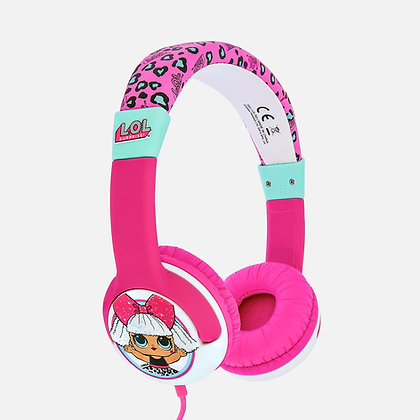 L.O.L. Surprise! My Diva Pink Kids Headphones