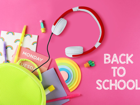 """Useful resources for """"Back to school"""" in September"""