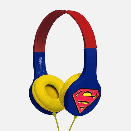 Superman Red/Blue Kids essential headphones
