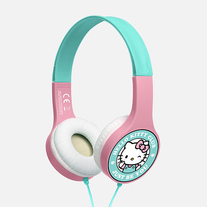 Hello Kitty club baby pink/mint Kids essential headphones