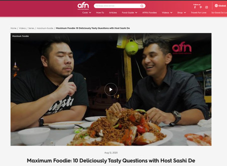 INTERVIEW | 10 Tasty Questions with Sashi De |  Asian Food Network