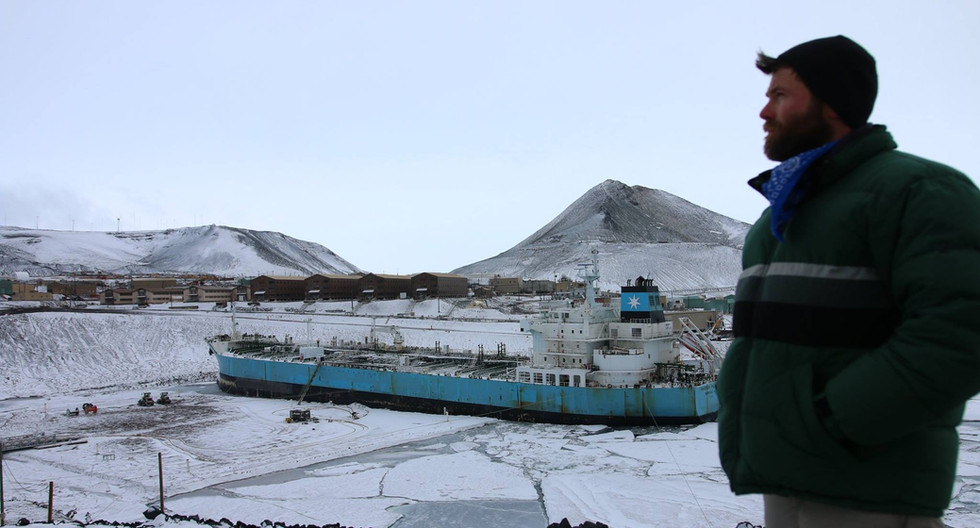 Taking the Maersk Peary to McMurdo Base station in Atarctica