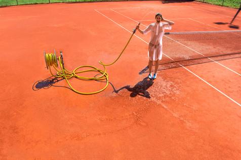 Diego Alborghetti; Grass; Labels; Sport venue; Tennis; Tennis court; Tennis player