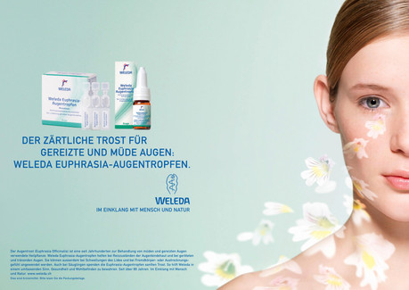 Beauty; Cheek; Chin; Diego Alborghetti; Face; Head; Jaw; Labels; Logos; Neck; Nose; Personal grooming; Product; Skin; Skin care; Weleda