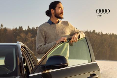 Audi; Auto part; Automotive design; Automotive exterior; Automotive window part; Beard; Car; City car; Diego Alborghetti; Family car; Labels; Logos; Mid-size car; Vehicle; Vehicle door; Windshield