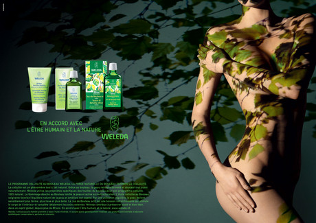 Advertising; Arm; Camouflage; Cg artwork; Design; Diego Alborghetti; Fictional character; Font; Graphic design; Green; Labels; Logos; Muscle; Pattern; Plant; Weleda