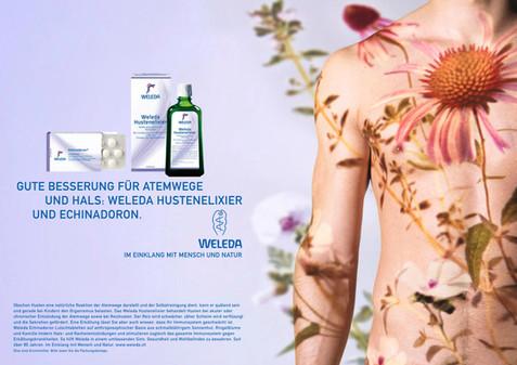 Advertising; Beauty; Brand; Diego Alborghetti; Drink; Flower; Graphic design; Labels; Logos; Organism; Plant; Product; Skin; Water; Weleda; Wildflower