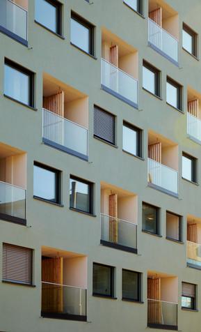 Apartment, Architecture < Labels < Diego Alborghetti, Balcony, Building, Condominium, Facade, Home, House, Interior design, Material property < Labels < Diego Alborghetti, Mixed-use, Neighbourhood, Property, Real estate, Residential area, Room < Labels, Urban design, Window, Yellow < Labels < Diego Alborghetti