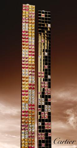 Architecture; Cartier; Diego Alborghetti; Labels; Logos; Skyscraper