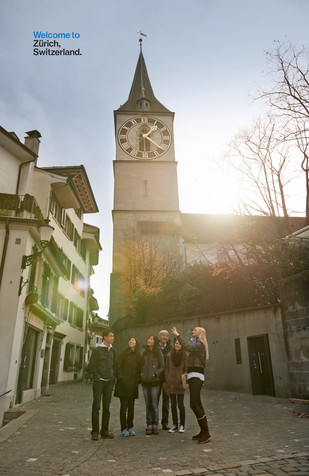 Architecture; Bell tower; Building; Church; City; Clock tower; Diego Alborghetti; Faces; Historic site; Joy; Labels; Landmarks; Logos; Medieval architecture; Photography; Place of worship; Sky; Spire; St. Peter Church; Steeple; Street; Tourism; Tower; Weight Watchers; Zürich