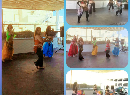 Texas Coastal Bend Bellydance Association performs at the 2nd Annual Corpus Christi Culture Festival