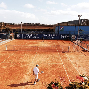 Terrains de tennis / Tennis courts