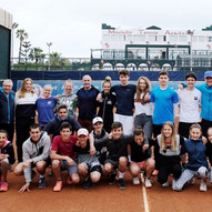 Stage de tennis: Groupe etranger : Swiss Academy / Tennis Camp: Foreign group: Swiss Academy