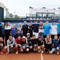 Stage de tennis: Groupe etranger : Swiss Academy / Tennis Camp: Foreign group: Swiss Academy