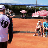 Stage de tennis: Groupe etranger: Swiss Academy / Tennis camp: Foreign group: Swiss Academy