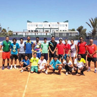 Stage de tennis: Groupe Etranger: Fédération du Bahreïn / Tennis camp: Foreign group: Bahrain Tennis Federation