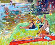 Elles, l'eau et le Soleil, par Linda Bachammar