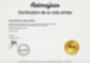 Certification Linda Bachammar.png