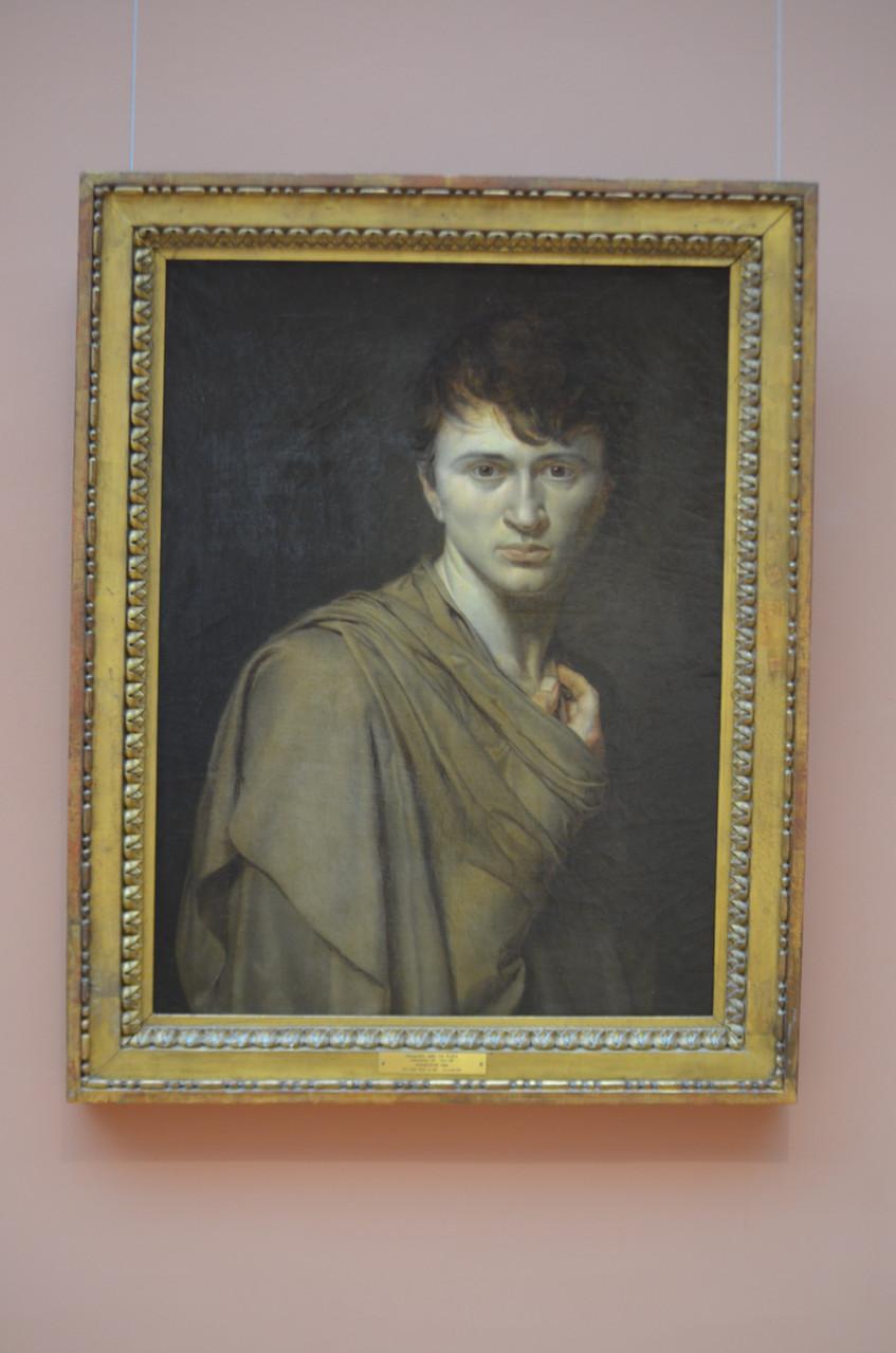 Alexandre-Denis Abel de Pujol - Autoportrait (1806)  Huile sur toile
