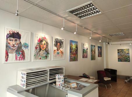 Exposition à l'Atelier des Peintres du Marais