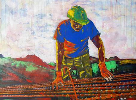 """'Terre rouge' dans la collection """"l'Art de la Pierre"""" chez Singulart"""