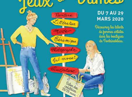 """Participation """"Jeux de Dames"""" 2020 à Fontainebleau"""