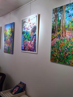 Exposition personnelle, Atelier des Peintres du Marais, Eté 2020