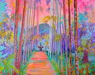Fin de journée tropicale par Linda Bachammar